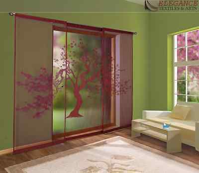 Beautiful Modern Set Of 3 Net Window Panels