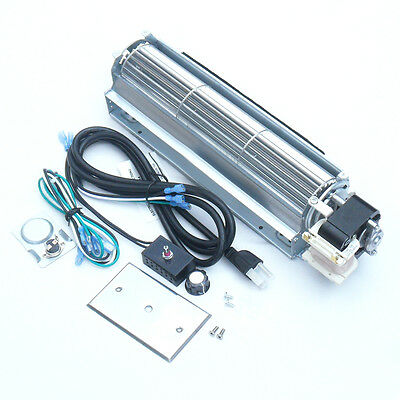 BKT GA3650T GA3650TB GA3700T GA3700TA Fireplace Blower Fan Kit for Desa Rotom