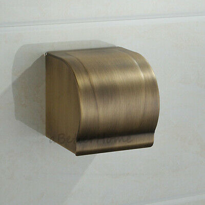 Antique Toilet Roll Paper Holder Wall Mounted Waterproof Tissue Storage Box