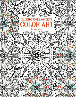 Coloring Books Geometric Book For Adult Relaxation Kaleidoscope Wonders