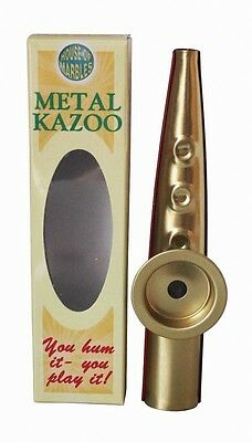 House of Marbles Premium Quality Metal Kazoo Hum to Play Musical Instrument. Hug