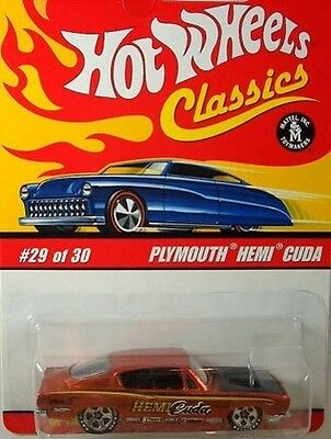 Hot Wheels Classics Series 2: Plymouth Hemi Cuda. Free Delivery