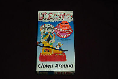 Vintage 1995 Dah Yang Toys Lil' Race & Chase Clown Around MIB