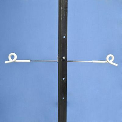 20 x Electric Fencing STEEL POST PICKET PIGTAIL OFFSET DOUBLE SIDED