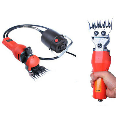 Electric 680W Sheep Goats Shearing Clipper Shears Cutter Wool With Case Hot Item
