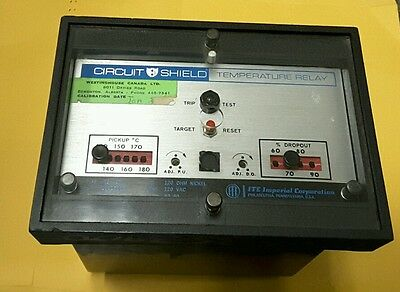 Gould Circuit Shield  Ite-49T Temperature Relay