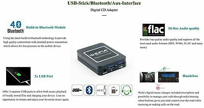 Xcarlink Audiostreaming Vivavoce BT RD4 CITROEN C2 C3 C4 PEUGEOT 207 307 3008 ..
