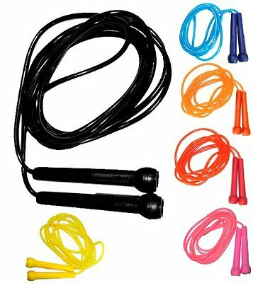 Pack of 100 Plastic Skipping Ropes Jumping Speed Ropes
