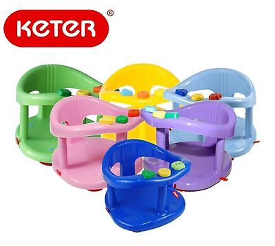 KETER Infant Baby Bath Tub Ring Safety Seat Anti Slip Chair Durable GENUINE NIB