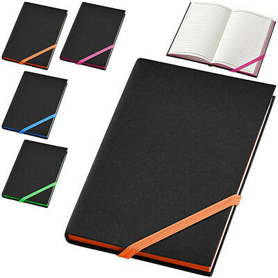 Notebook per Appunti Travers 80 Fogli A5 a Righe Memo Block Notes Elastico