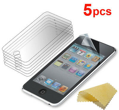 5X Protective Guard Cover Film Screen Protector Skin For iPod Touch 4 4TH Gen