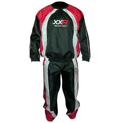 XXR Heavy Duty Sweat Suit Sauna Exercise Gym Suit Fitness Weight Loss Anti-Rip