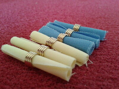 Dolls House Miniatures 1/12th Scale Accessory D1298 Pack of Six Napkins New