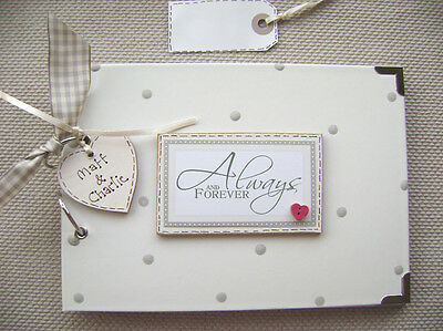 Personalised Love. Always & Forever .a5 Size Photo Album/scrapbook/memory Book.