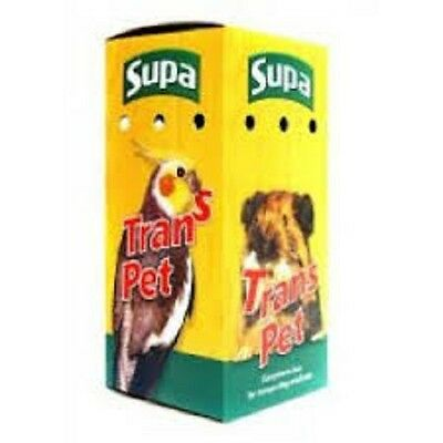 Cardboard Pet Carriers - Birds - Small Animal -  Small - Medium - Pet - Carrier