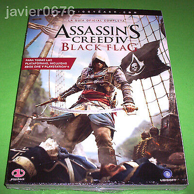 Assassin's Creed Iv Black Flag Guia Oficial Nueva Y Precintada Piggyback