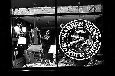 Wall Room Decor Art Vinyl Sticker Mural Decal Barber Shop Logo Sign Salon SA003