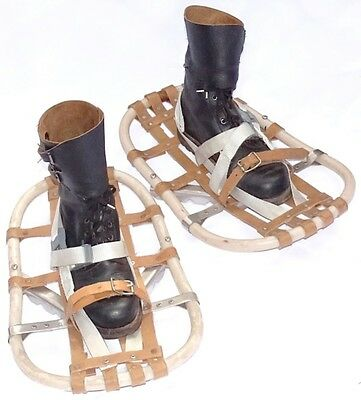 Genuine British Army Surplus Snow Shoes winter polar arctic expedition snowshoes