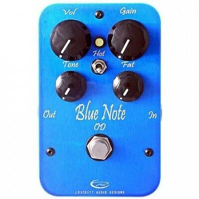 Rockett Pedals Blue Note Overdrive Guitar Effects Pedal. Shipping Included