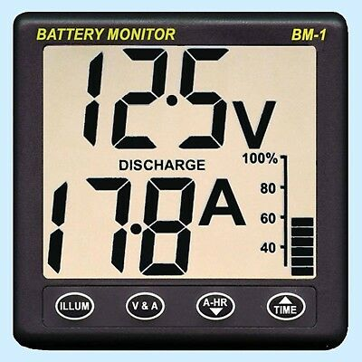 NASA BM-1 Marine Battery monitor - Clipper - 12v