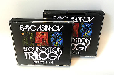 Isaac Asimov - The Foundation Trilogy (8 x Audio CD's) (Audiobook)