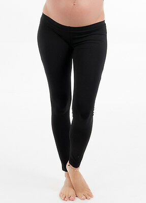 NEW - Trimester™ - Oasis Winter Fleece Maternity Leggings in Black