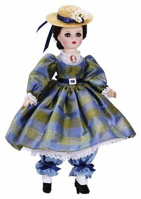 Amelia Bloomer 10'' Madame Alexander Doll from Couture Collection NRFB