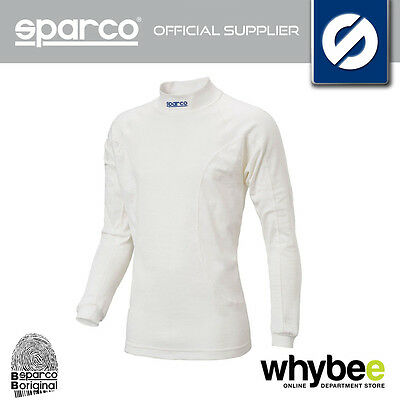 001766Mb New Sparco Nomex Soft Touch Rw-5 Long Sleeve Top T-Shirt Fireproof Fia