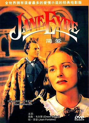 "NEW DVD  ""Jane Eyre"" (1943) Orson Welles, Joan Fontaine"