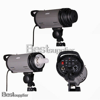 Photo Studio Mettle 400 Watt Monolight Flash Strobe Lighting Modeling Light