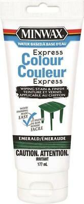 Minwax WOOD EXPRESS COLOUR AND STAIN 8 FINISHES AVAILABLE wiping 177ml interior