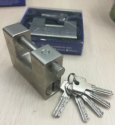 Heavy Duty Padlock/Chain Lock 94mm Shipping Container Garage Warehouse