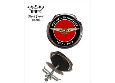 Royale Classic Car Grill Badge + Fittings HILLMAN ENTHUSIAST 1907 - 1976 B2.2894