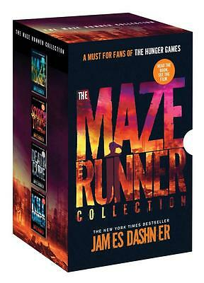 The Maze Runner Collection by James Dashner -  4 Book Box Set (NEW & SEALED)
