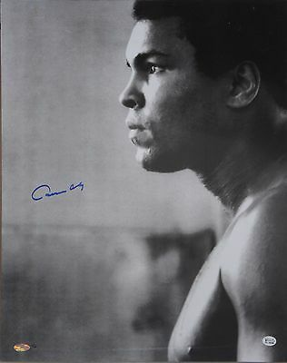 "Cassius Clay signed 16"" x 20"" L?Ed 2/10 Photo Framed Online Authentics"