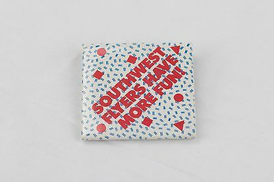 Southwest Airlines SWA Southwest Flyers Have More Fun! button Herb Kelleher