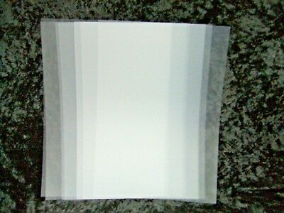 Frosted Clear Binding Covers Pack 10 A4 300 Microns 936143 Report Transparent