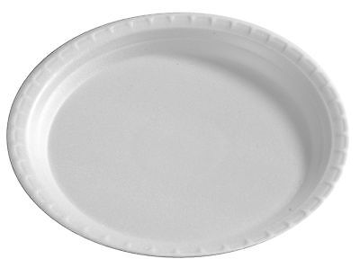 """500 Pieces 9 """" round disposable plastic plates / party plates lunch plates"""