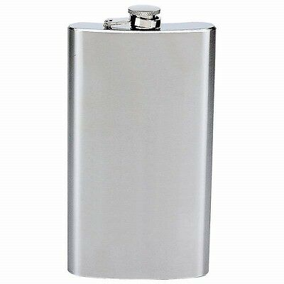 New Stainless Steel FLASK Screw Cap Hip Pocket Alcohol Liquor Whiskey Party