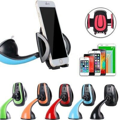 360° Universal Car Windscreen/ Dashboard Suction Phone Holder Mount Cradle Stand