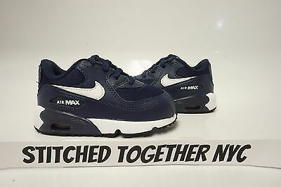 Details about Nike Air Max 90 Mesh TD 833422 410 Baby's Boys