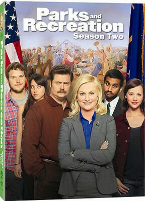 Parks And Recreation . The Complete Season 2 . Staffel . Amy Poehler . 4 DVD NEU
