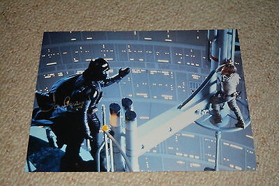 DAVE PROWSE  signed Autogramm In Person 20x25 cm STAR WARS Darth Vader