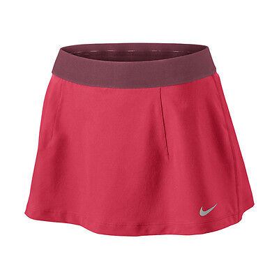 Nike Womens Tennis Slam Skirt Fusion Red New 546093-676 S