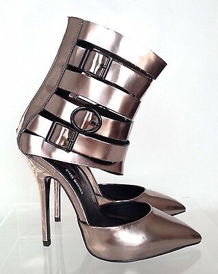 f5ce98b37b9 KEYSHIA COLE FOR Steve Madden Prix Gladiator Sandal, Brown, 8 1/2 ...