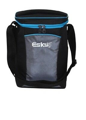Genuine Esky 2-Wine Bottle Chiller Cooler Bag. Well Insulated. Free Ice Gel Pack