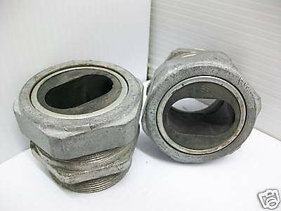 """Lot-2 Cable/romex/wire Entrance Connector Grip 2"""" New"""