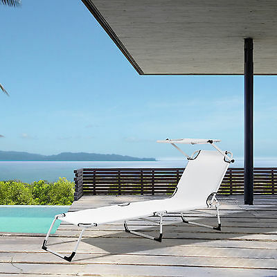 chaise longue smartfox transat bain de soleil balcon plage. Black Bedroom Furniture Sets. Home Design Ideas