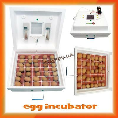 Egg Incubator For 70  Eggs With Mechanical Turning New + English Manual