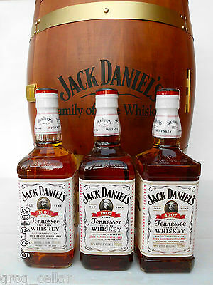 "Jack Daniels 1907 ""White Label"" Generation 1 Bottle - RARE!!!!"